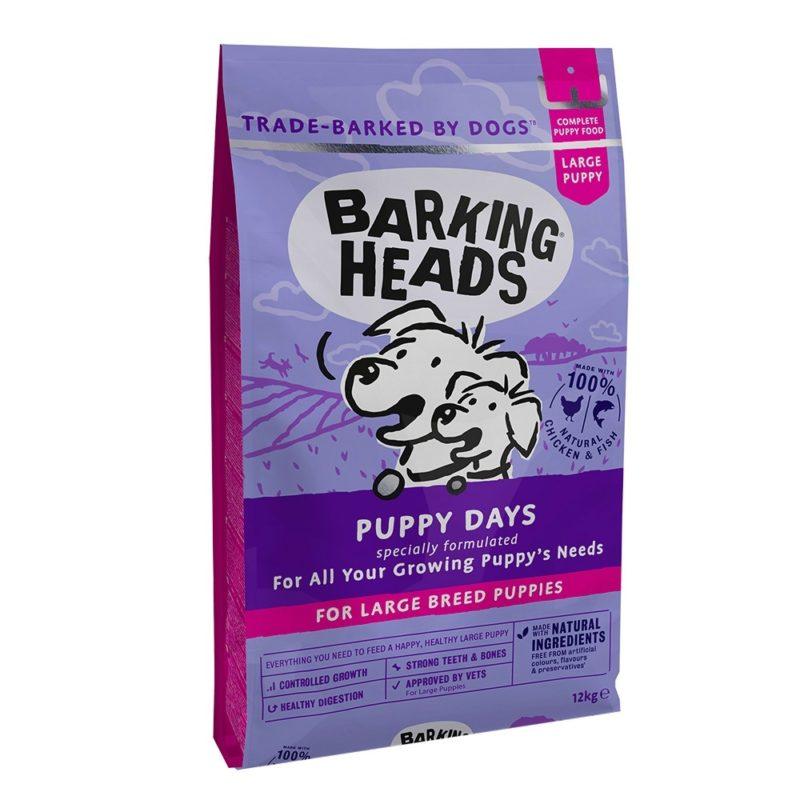 """Barking Heads для щенков крупных пород, с курицей, лососем и рисом """"Щенячьи деньки"""""""