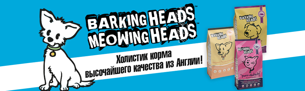 Barking Heads БЕЗ СКИДКИ 1000х300