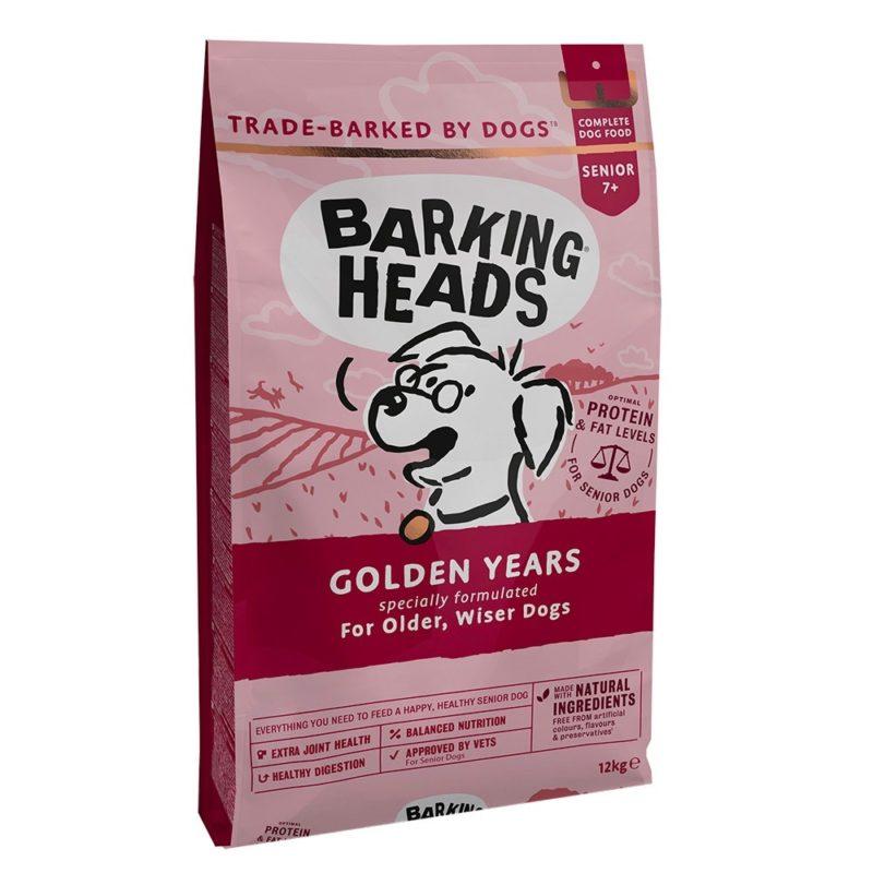 """Barking Heads для собак старше 7 лет с курицей и рисом """"Золотые годы"""""""