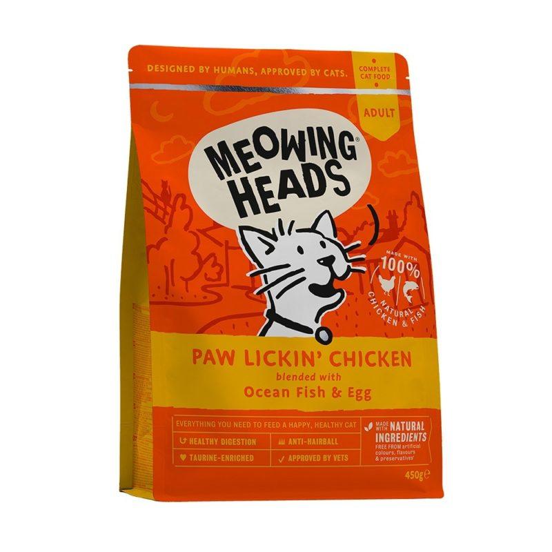 """Barking Heads для взрослых кошек, с курицей и рисом """"Куриное наслаждение"""""""