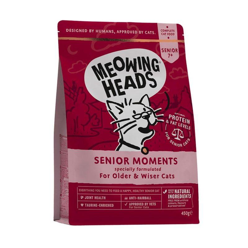 """Barking Heads для кошек старше 7 лет, с лососем и яйцом """"Мудрые года"""""""