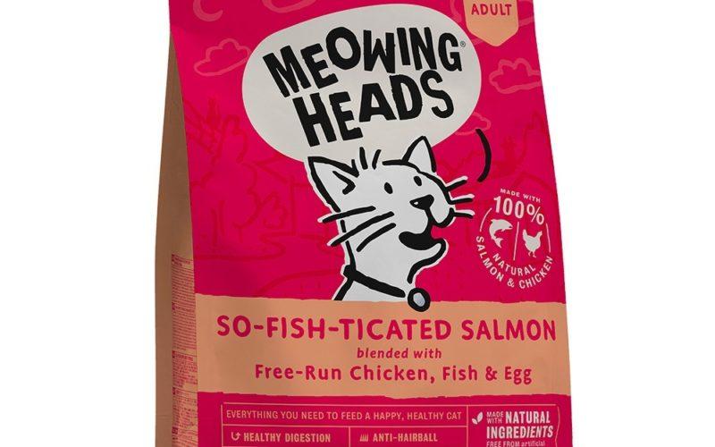 """Barking Heads для взрослых кошек, с лососем, курицей и рисом """"Фиш-гурман"""""""