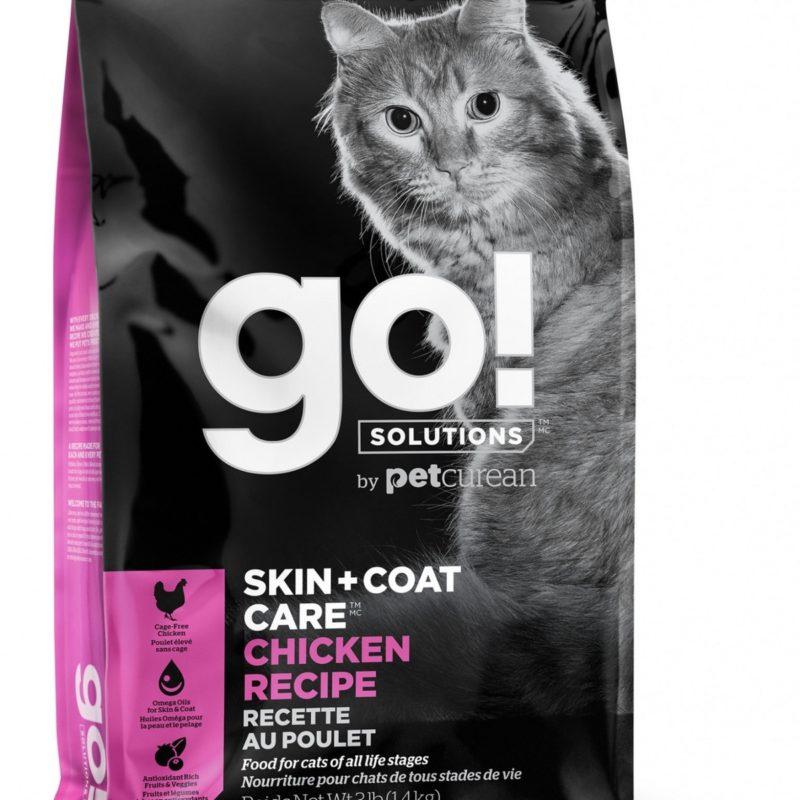 GO! для котят и кошек с цельной курицей, фруктами и овощами
