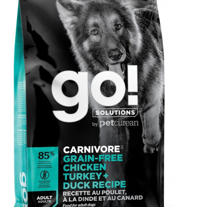 GO! беззерновой для взрослых Собак всех пород 4 вида мяса: Индейка, Курица, Лосось, Утка