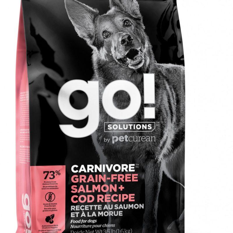 GO! беззерновой для собак всех возрастов c лососем и треской