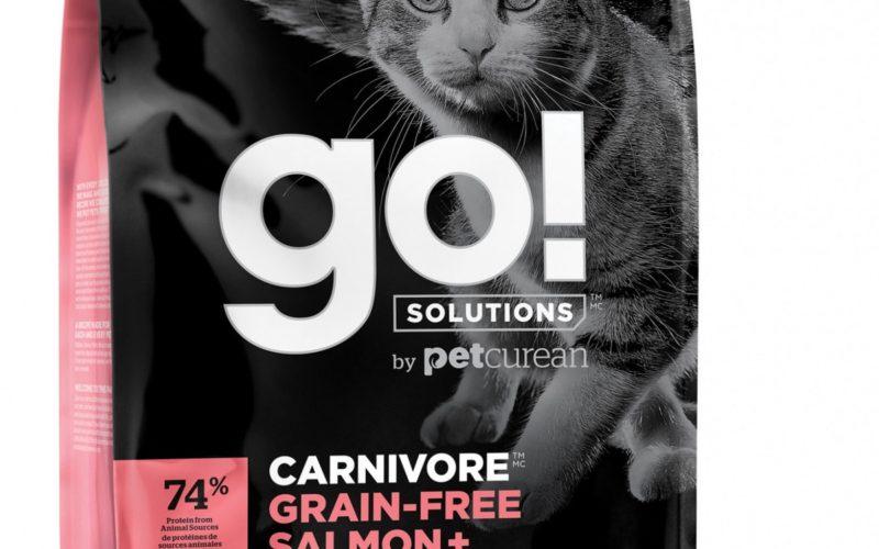 GO! беззерновой корм для котят и кошек, с лососем и треской
