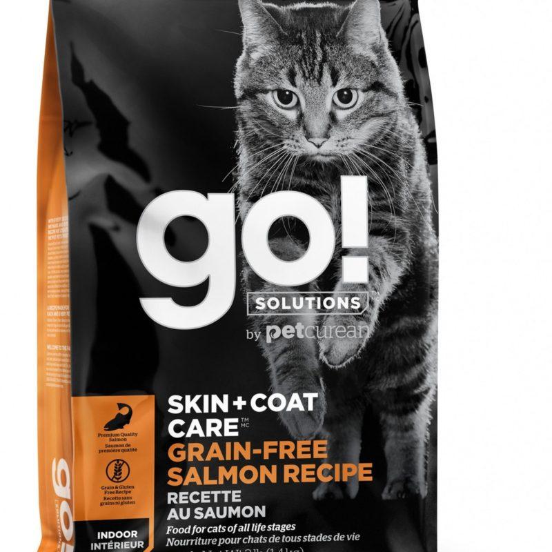 GO! беззерновой для котят и кошек, с лососем
