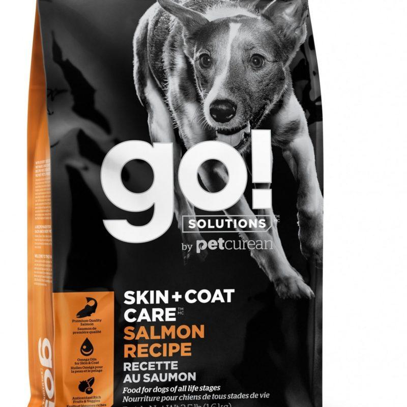 GO! для щенков и собак, со свежим лососем и овсянкой